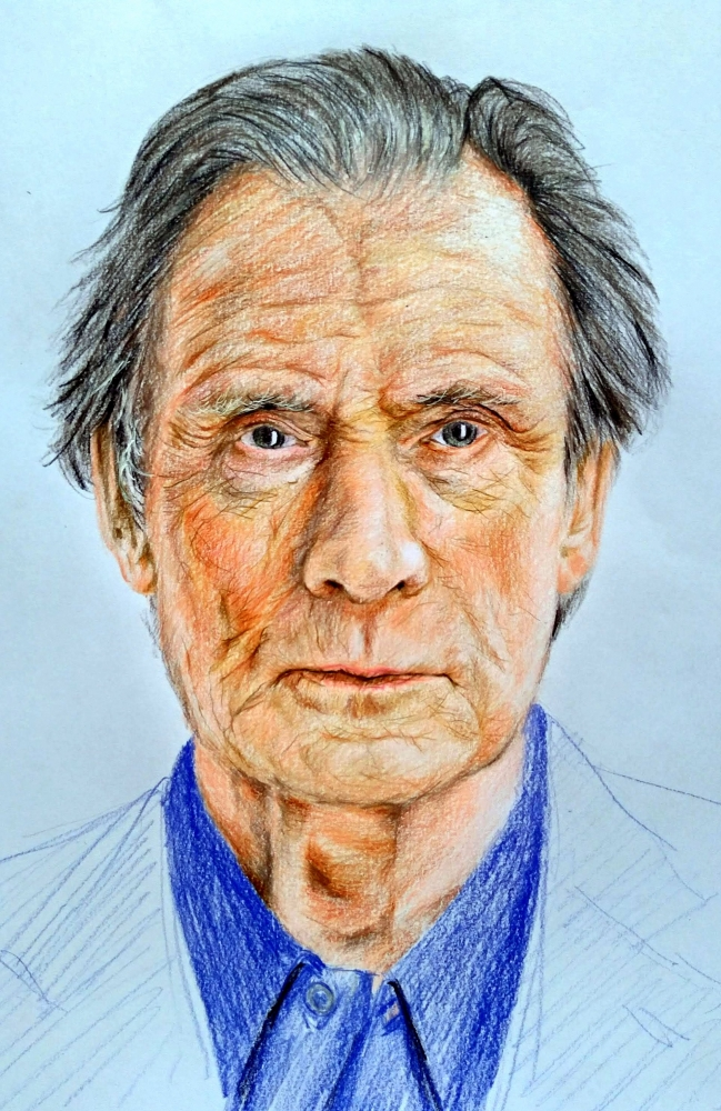 Bill Nighy by linshyhchyang